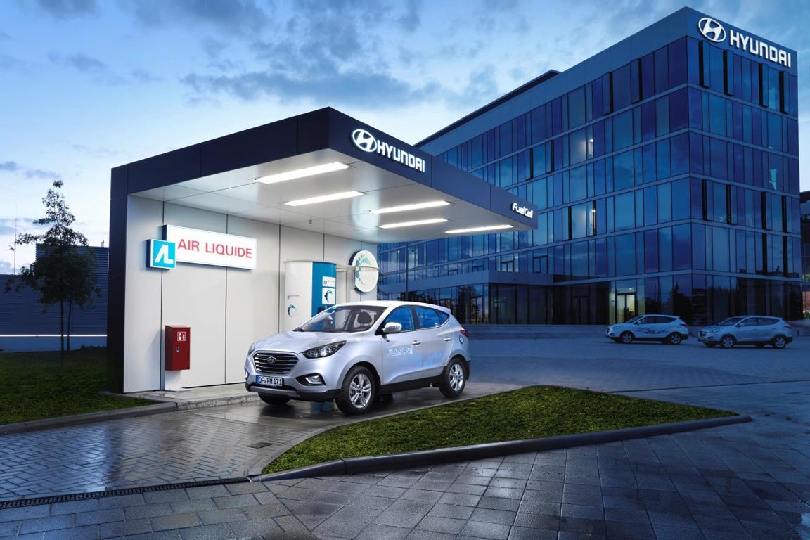 Hyundai Wasserstoff-Tankstelle