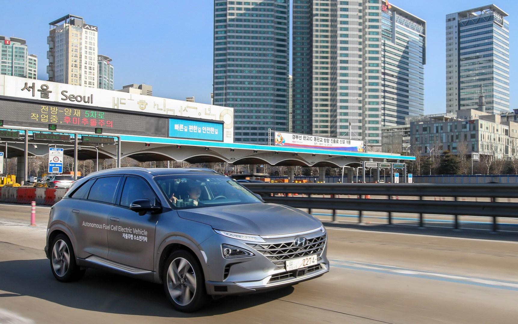 Hyundai Nexo - Autonomes Fahren