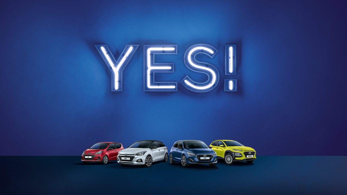 Hyundai YES-Sondermodelle