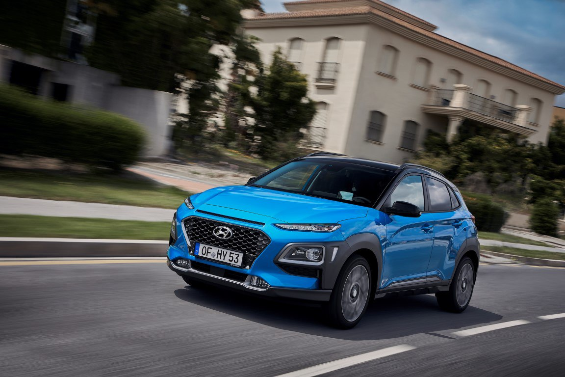 Hyundai Kona Hybridantrieb