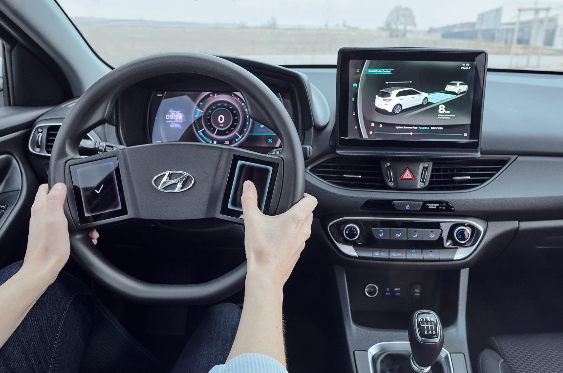 Hyundai virtuelles Cockpit