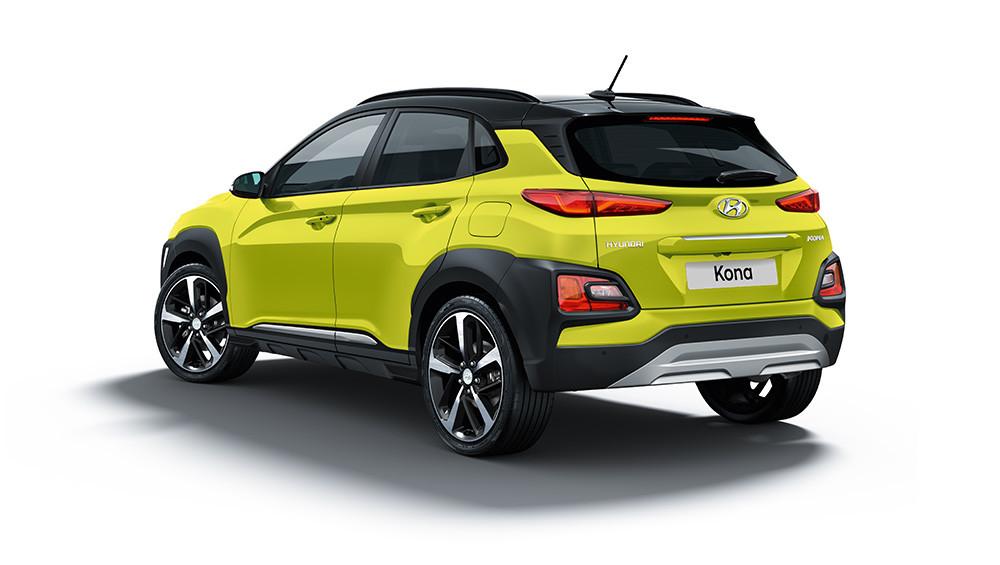 Hyundai Kona hinten