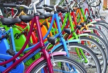 Fahrrad-Verleih