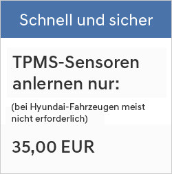 TPMS-Sensoren anlernen