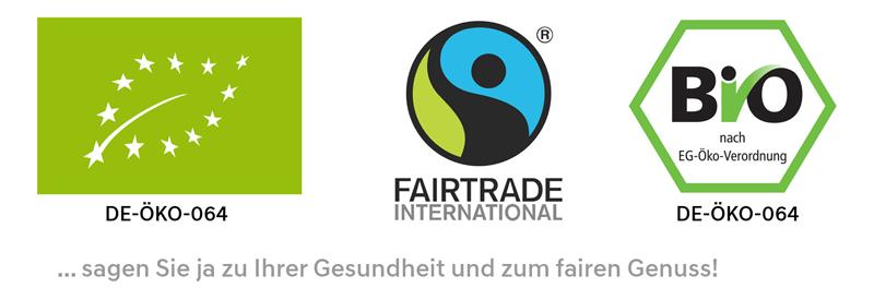 Fairtrade- und Bioprodukte
