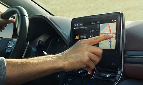 IONIQ Elektro Bildschirm