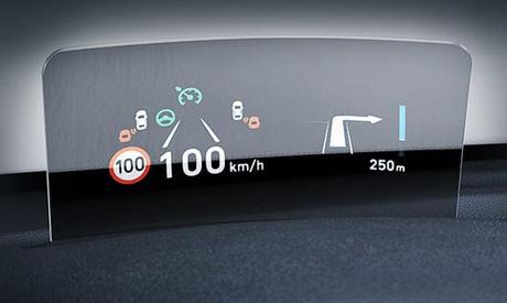 Hyundai Kona Elektro - Head up Display