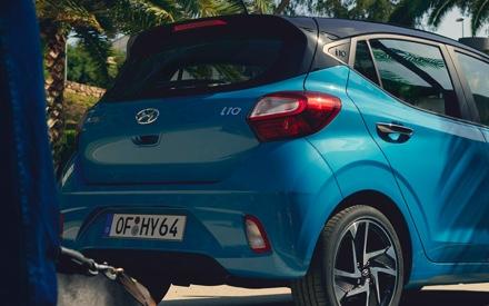 Hyundai i10 - Heck