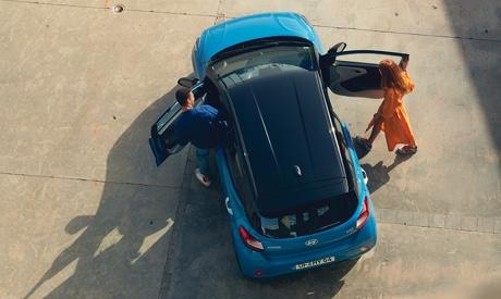 Hyundai i10 - Kontrastlackierung