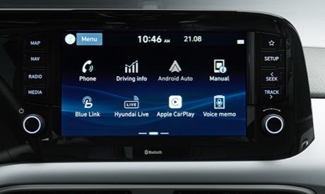 Hyundai i10 - Touchscreen