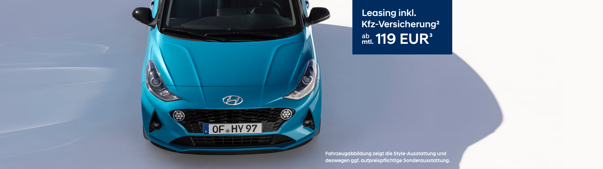 Hyundai i10 - Leasingrate