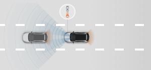 Hyundai i10 - Autonomer Notbremsassistent