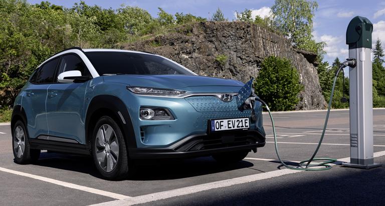 Hyundai Kona Elektro - Fotogalerie