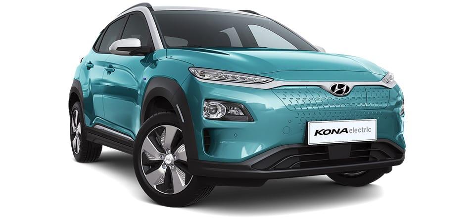 Hyundai Kona Elektro Frontansicht
