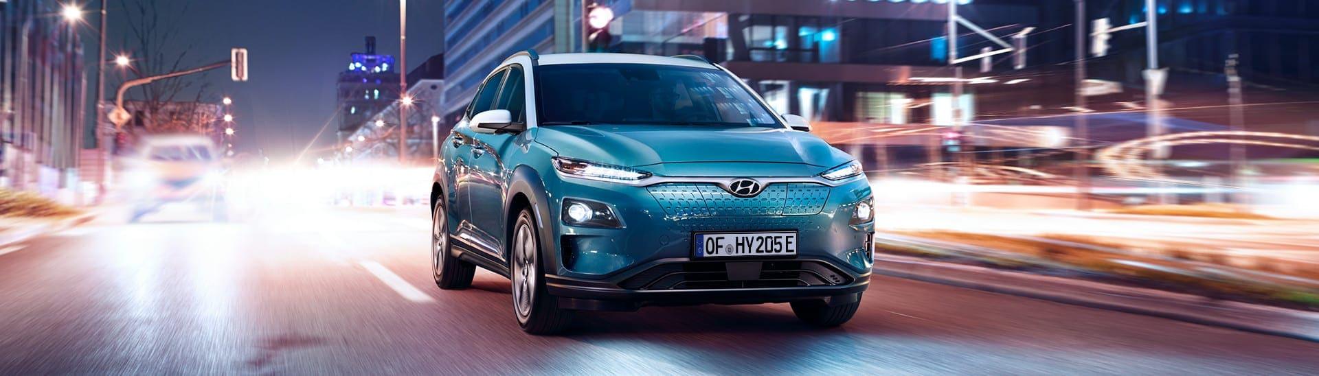 Hyundai Kona Elektro -Panorama 2