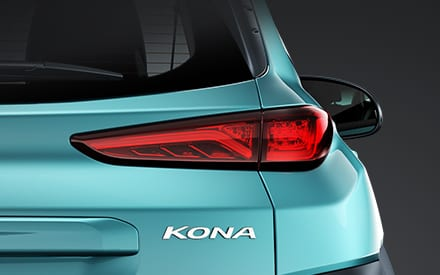Hyundai Kona Elektro - Rückleuchte