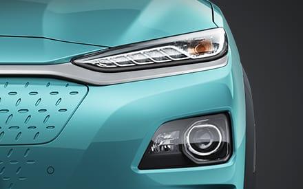 Hyundai Kona Elektro - Scheinwerfer