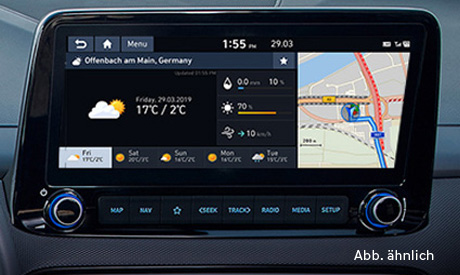 Hyundai Kona Elektro - Navigation