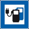 Logo - Ladestation für Elektroautos