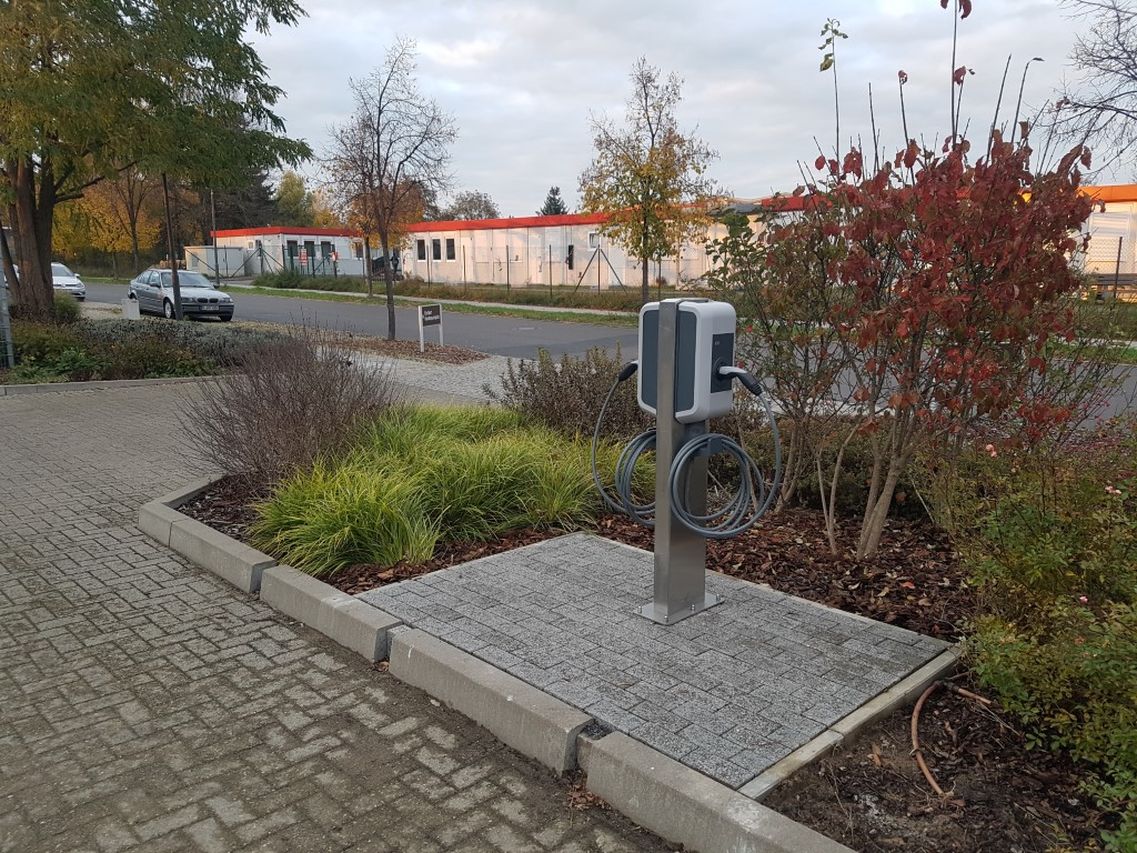 Ladestation im Autohaus Körner