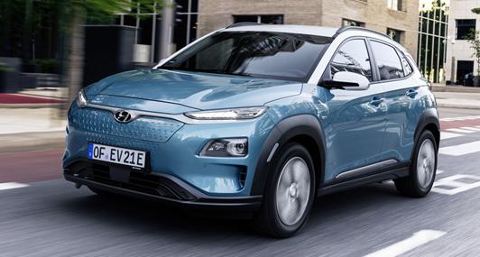 Hyundai Kona Elektro - Laden
