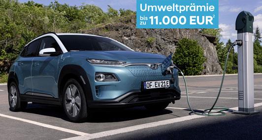 Hyundai Kona Elektro - Reichweite