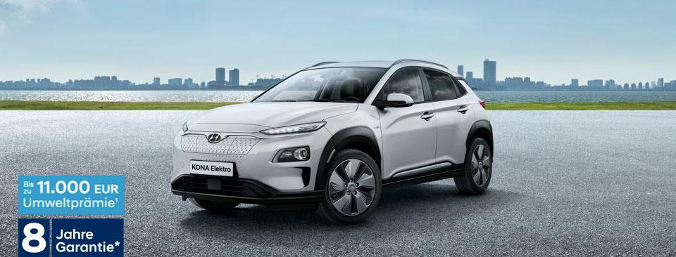 Umweltprämie - Hyundai Kona Elektro