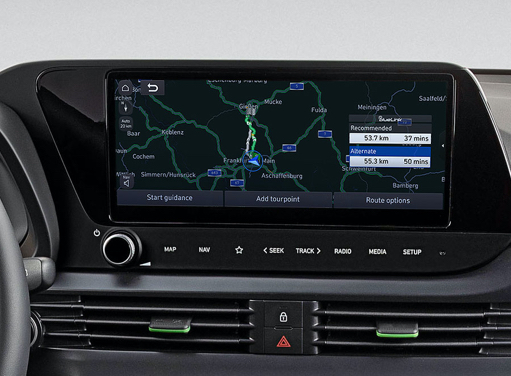 Hyundai i20 - Touchscreen