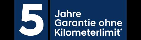 Logo - 5 Jahre Garantie