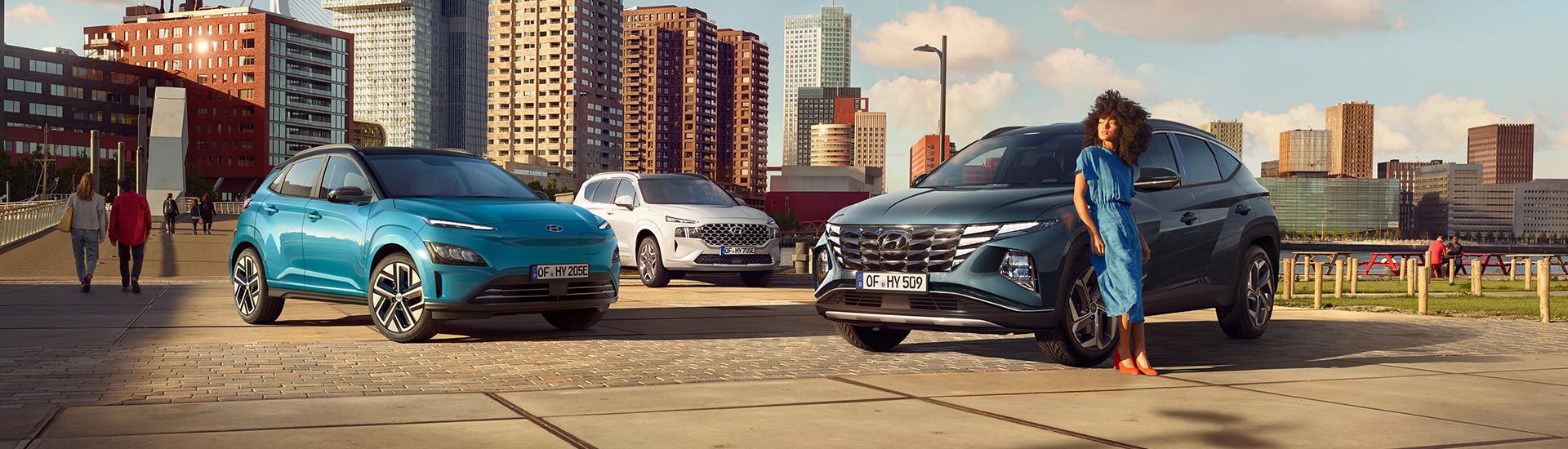 Hyundai SUV-Familie Panorama