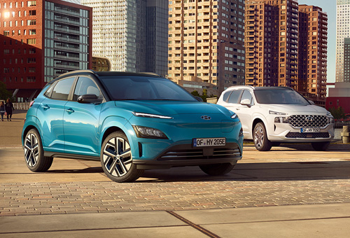 Hyundai SUV-Familie mit alternativen Antrieben
