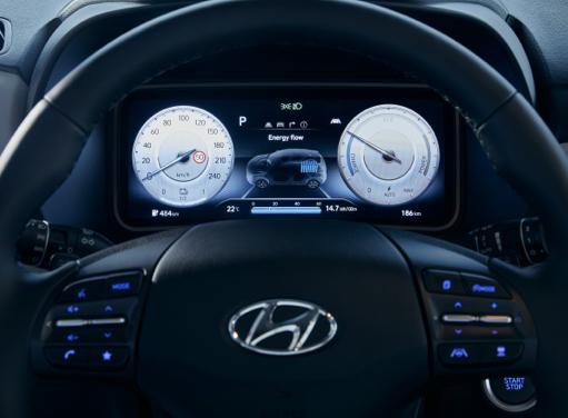 Hyundai Kona Elektro - Digitales Cockpit