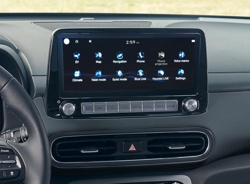 Hyundai Kona Elektro - Touchscreen