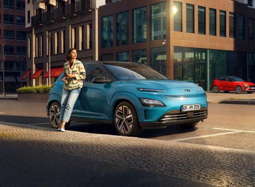 Hyundai Kona Elektro - Aerodynamische Front