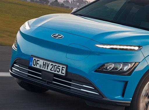 Hyundai Kona Elektro - Dynamische Lichtsignatur