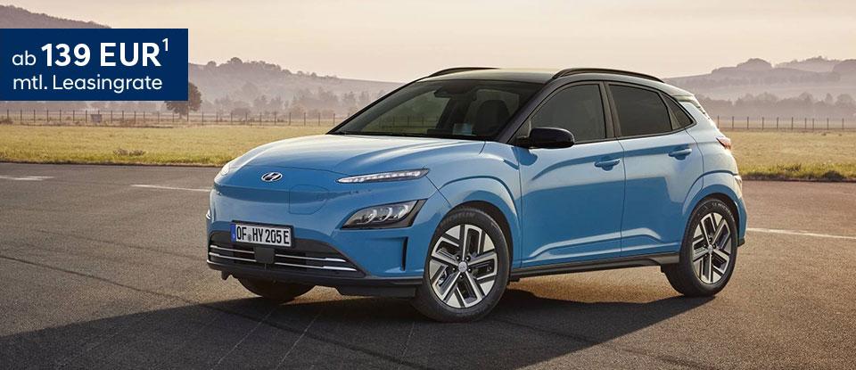 Hyundai Kona Elektro - Leasing