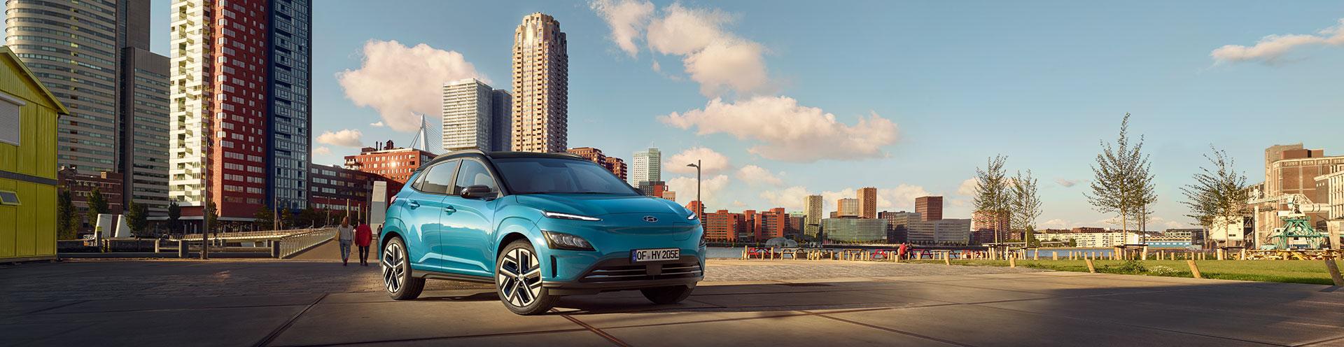 Hyundai Kona Elektro - Panoramabild