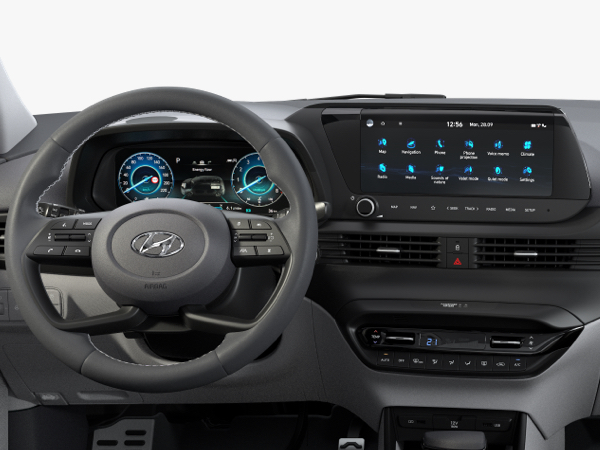 Hyundai Bayon - Digitales Cockpit