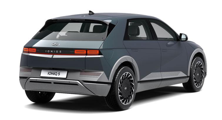 Hyundai Ioniq 5 - hinten