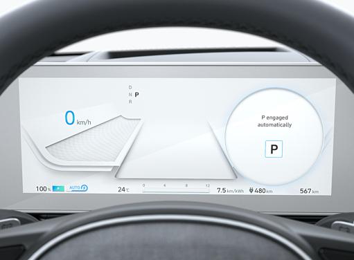 Hyundai IONIQ 5 - Digitales Cockpit