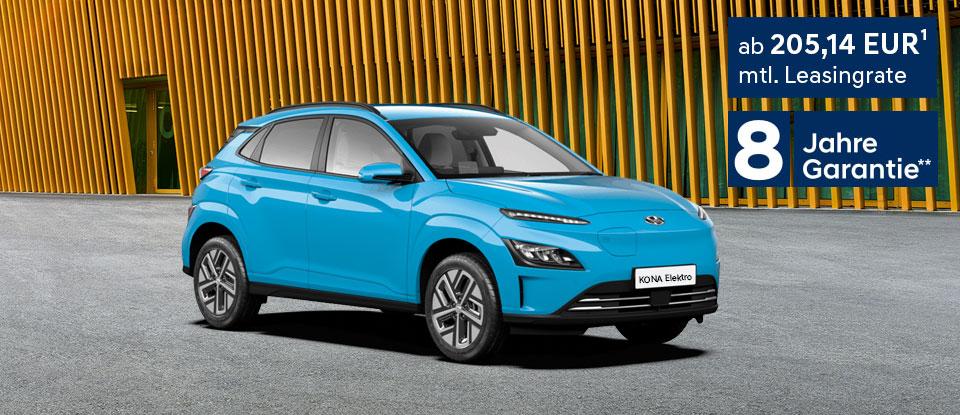 Hyundai KONA Elektro - Leasingangebot