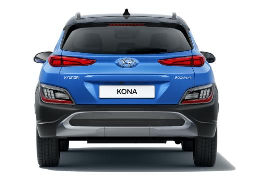Hyundai Kona back - Design