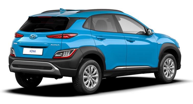 Hyundai Kona - Ansicht hinten