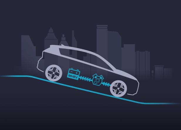 Hyundai Kona - Energierückgewinnung