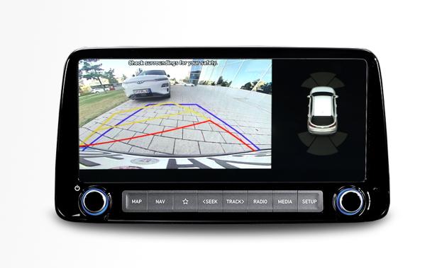 Hyundai Kona - Rückfahrkamera