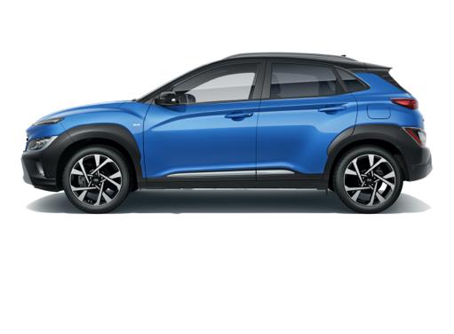 Hyundai Kona side - Design