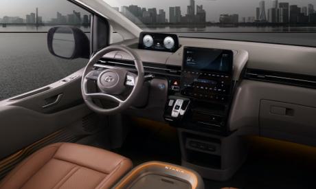 Hyundai STARIA - Cockpit