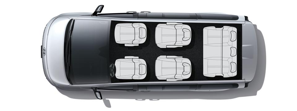 Hyundai STARIA - Innenraum