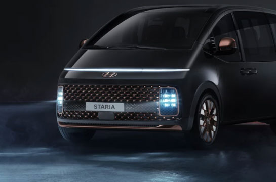 Hyundai STARIA - LED Scheinwerfer