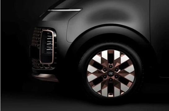 Hyundai STARIA - Leichtmetallfelgen